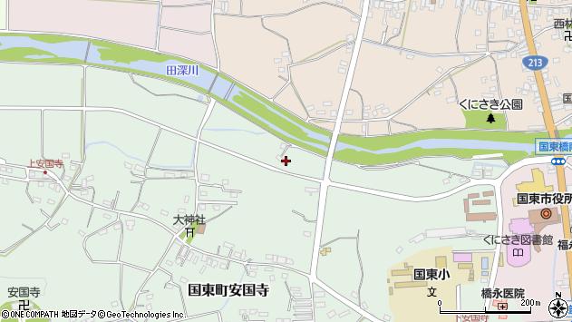 大分県国東市国東町安国寺1152周辺の地図