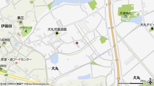 大分県中津市犬丸2229周辺の地図