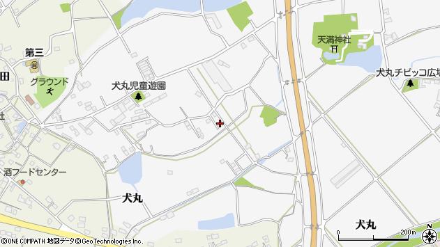 大分県中津市犬丸2227周辺の地図