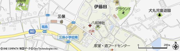 大分県中津市伊藤田3084周辺の地図