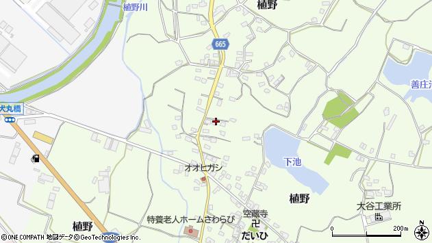 大分県中津市植野1171周辺の地図
