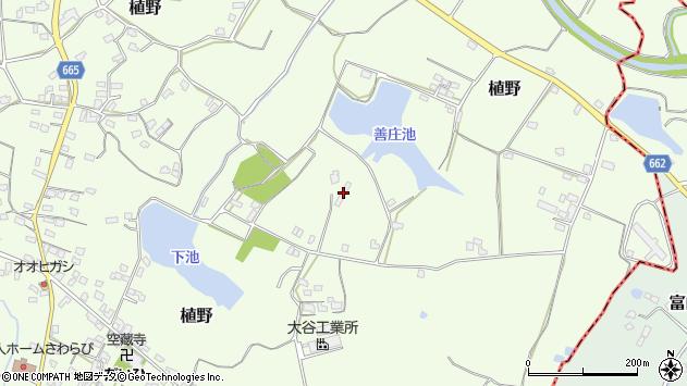 大分県中津市植野1601周辺の地図