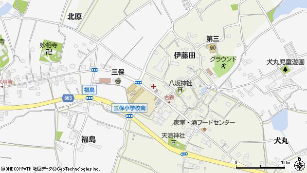 大分県中津市伊藤田3117周辺の地図