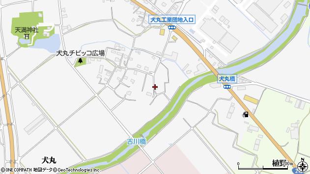 大分県中津市犬丸767周辺の地図