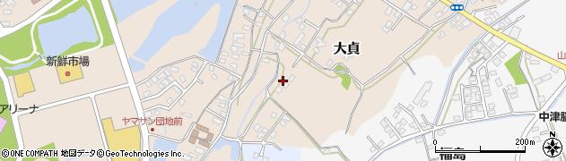 大分県中津市大貞62周辺の地図