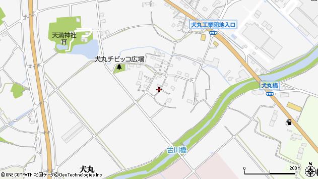 大分県中津市犬丸908周辺の地図