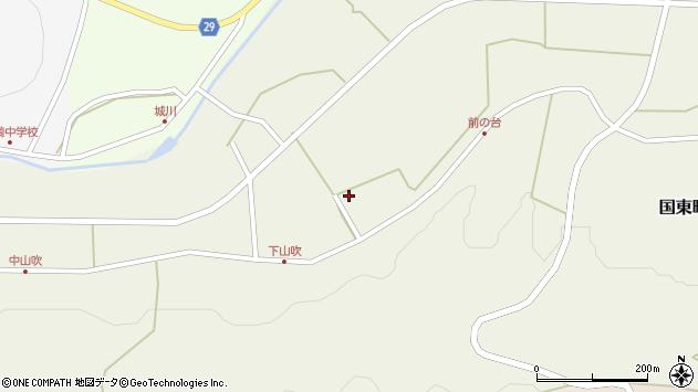 大分県国東市国東町原1008周辺の地図