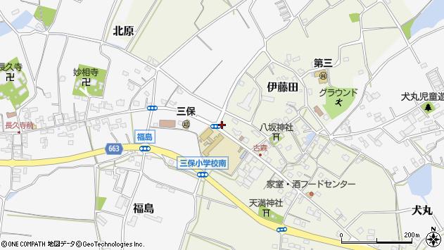 大分県中津市伊藤田3065周辺の地図