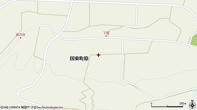 大分県国東市国東町原2653周辺の地図