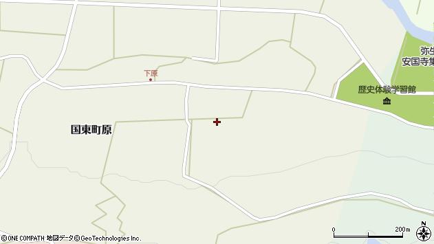 大分県国東市国東町原2766周辺の地図