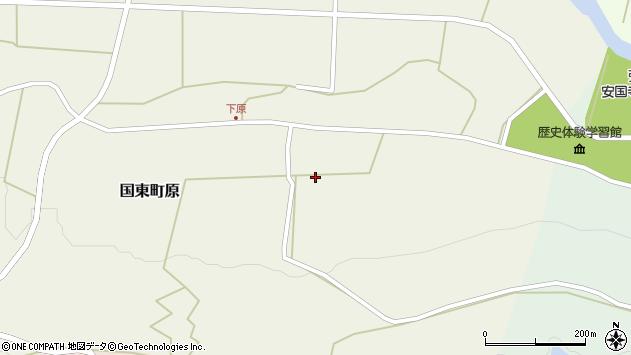 大分県国東市国東町原2768周辺の地図