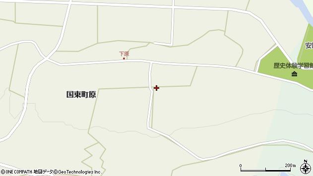 大分県国東市国東町原2724周辺の地図