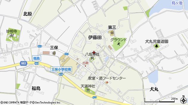 大分県中津市伊藤田3143周辺の地図
