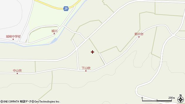 大分県国東市国東町原山吹周辺の地図