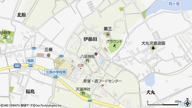 大分県中津市伊藤田3100周辺の地図