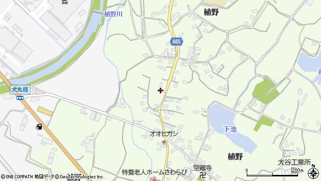 大分県中津市植野1251周辺の地図