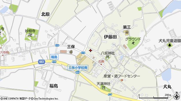 大分県中津市伊藤田3057周辺の地図
