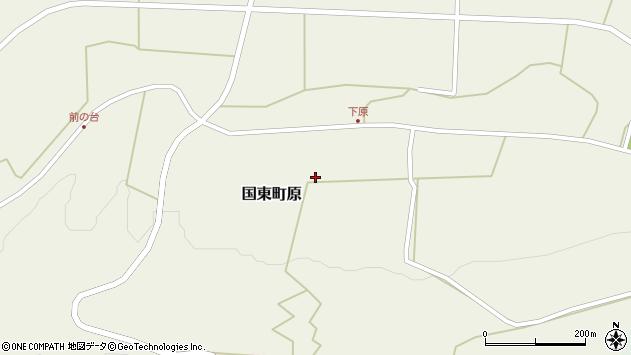 大分県国東市国東町原2642周辺の地図