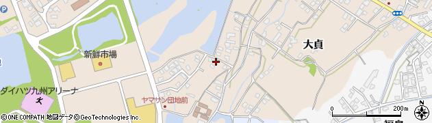 大分県中津市大貞384周辺の地図