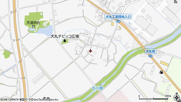 大分県中津市犬丸826周辺の地図