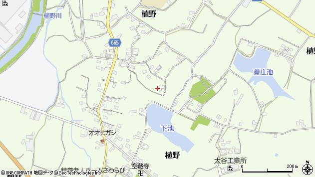 大分県中津市植野1502周辺の地図