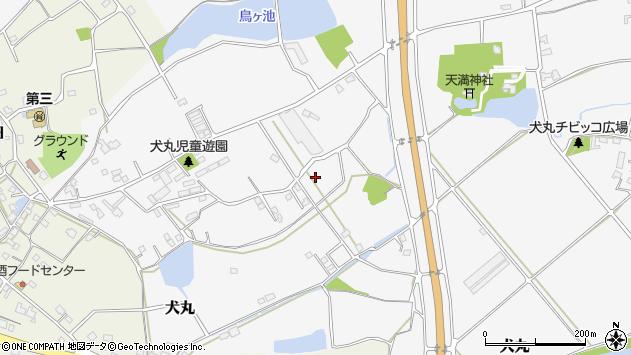 大分県中津市犬丸1888周辺の地図