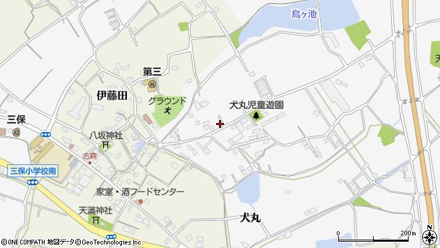 大分県中津市犬丸2183周辺の地図