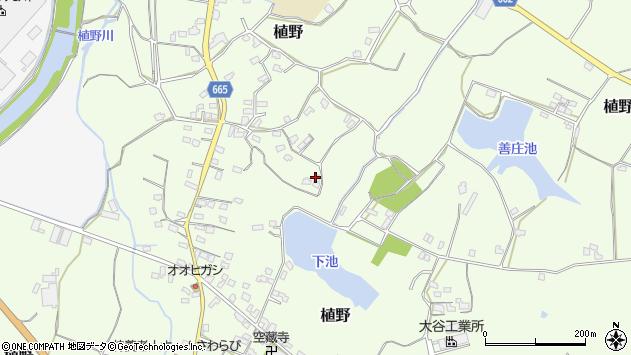 大分県中津市植野1499周辺の地図