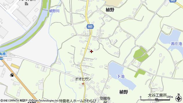 大分県中津市植野1213周辺の地図
