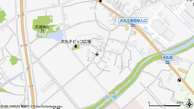 大分県中津市犬丸905周辺の地図