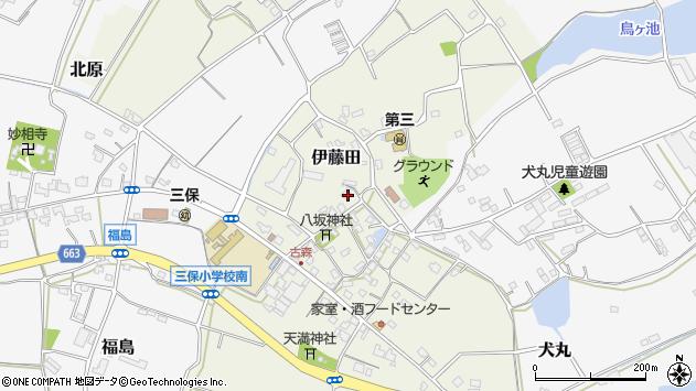 大分県中津市伊藤田3042周辺の地図