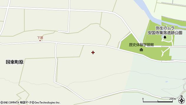 大分県国東市国東町原2993周辺の地図