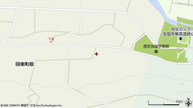大分県国東市国東町原2796周辺の地図