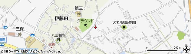 大分県中津市犬丸2235周辺の地図