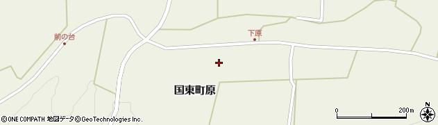 大分県国東市国東町原2394周辺の地図