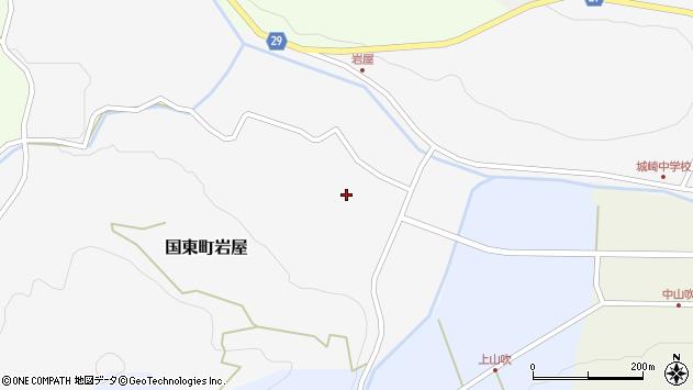 大分県国東市国東町岩屋2187周辺の地図