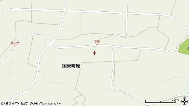 大分県国東市国東町原2375周辺の地図