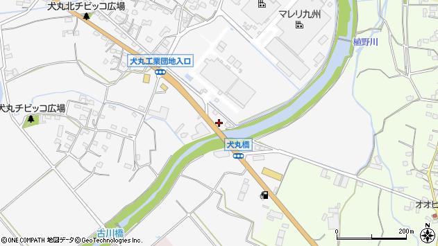 大分県中津市犬丸738周辺の地図
