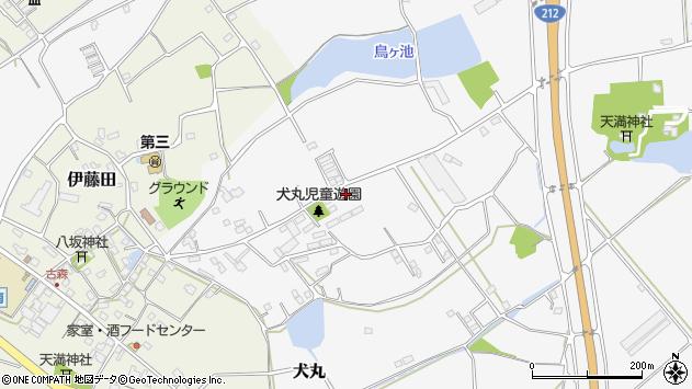 大分県中津市犬丸2194周辺の地図
