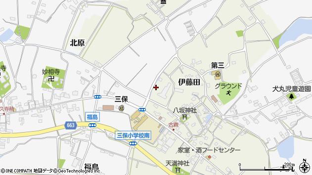 大分県中津市伊藤田3051周辺の地図