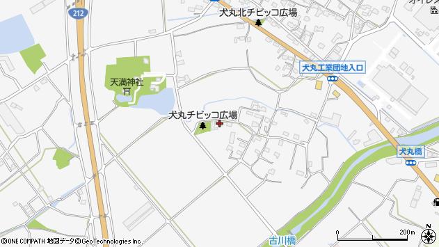 大分県中津市犬丸890周辺の地図