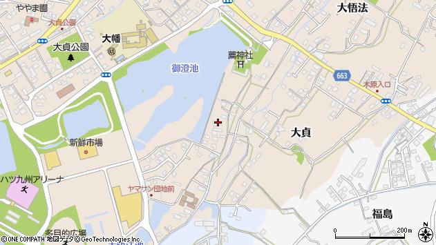 大分県中津市大貞177周辺の地図