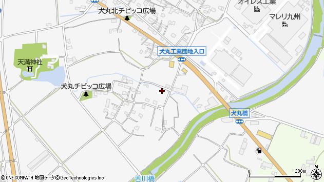 大分県中津市犬丸842周辺の地図