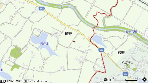 大分県中津市植野1655周辺の地図