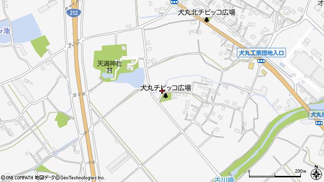 大分県中津市犬丸875周辺の地図