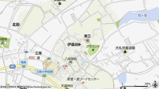 大分県中津市伊藤田2999周辺の地図