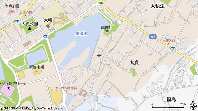 大分県中津市大貞189周辺の地図