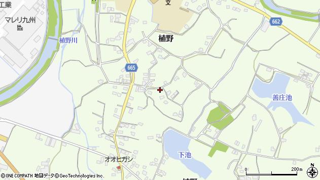 大分県中津市植野1147周辺の地図