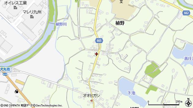 大分県中津市植野1227周辺の地図