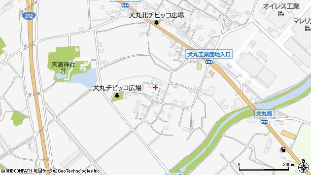 大分県中津市犬丸860周辺の地図